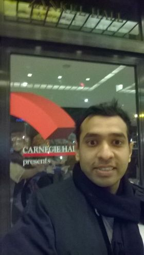 Carnegie Hall Entrance